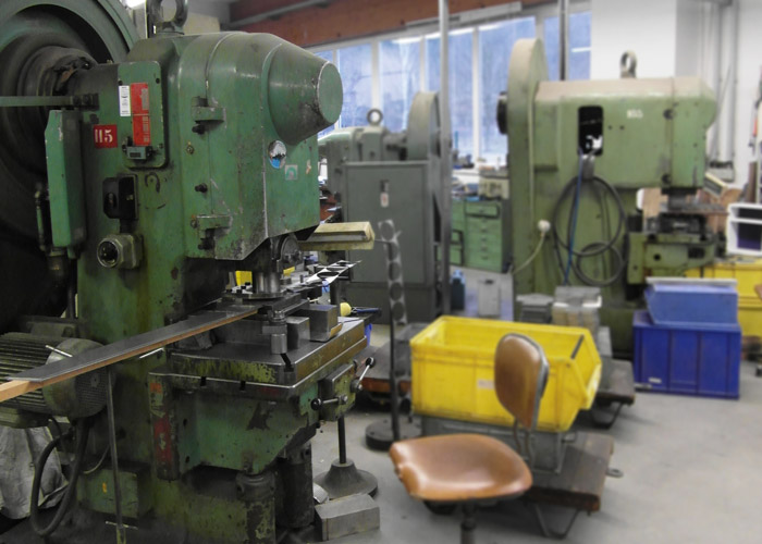 Historische Mechanische Pressen
